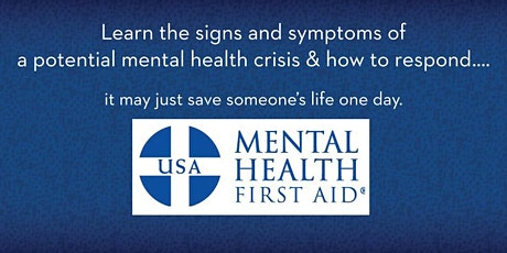 Mental Health First Aid Class (Adult Focused) tickets