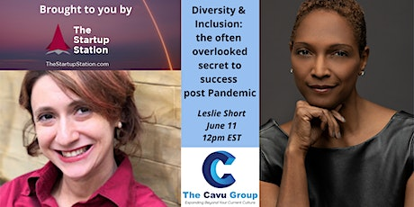 Diversity & Inclusion: the often overlooked secret to success post Pandemic tickets
