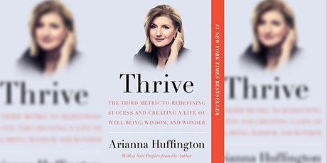 ReFresh Reads: Thrive by Arianna Huffington tickets