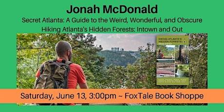 Jonah McDonald, Secret Atlanta & Hiking Atlanta's Hidden Forests tickets