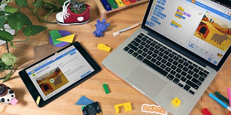 Scratch Coding class for Kids level 2 (Starting May12th - June 9th) tickets