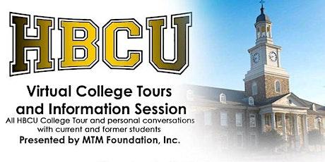 Virtual HBCU College Tour Pt II tickets
