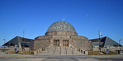 Celebrating 90 years of Adler Planetarium in Hamburgs sister city Chicago