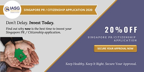 Sign up for a FREE profile analysis and evaluate your SG PR/Citizenship now tickets