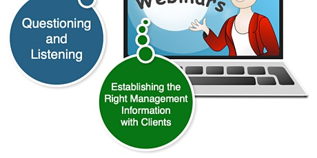 Webinar - Establishing the Right Management Information with Clients tickets