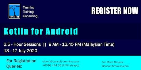 Webinar - Kotlin for Android tickets