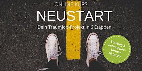 NEUSTART - Einstieg & Schnupperabend Tickets