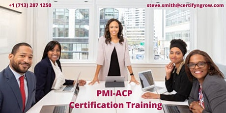 PMI-ACP 3 Days Certification Training in Angels Camp,CA,USA tickets