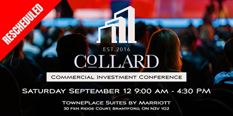 COLLARD COMMERCIAL INVESTMENT CONFERENCE tickets