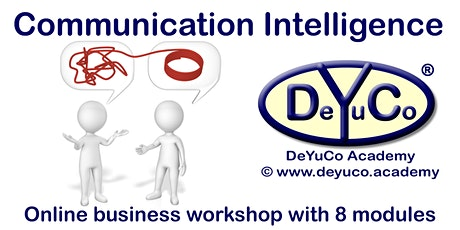 DeYuCo Academy Online Business Workshop Communication Intelligence tickets