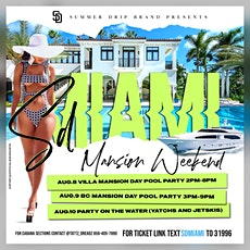 SDMIAMI Mansion Weekend 2020 tickets