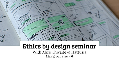 Ethics by design seminar tickets