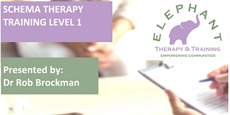 Accredited Schema Therapy Practitioner Training Level 1 tickets