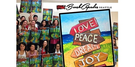 ONLINE Paint Class: Life is a Beach! (05-28-2020 starts at 6:30 PM) tickets