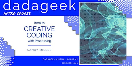 Intro to Creative Coding with Processing tickets