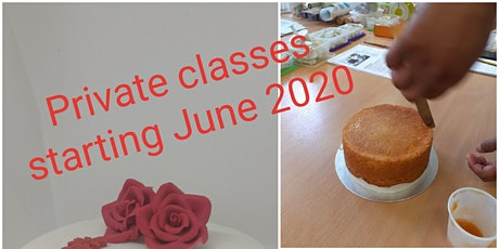 Cake Decorating Classes - One to One tickets
