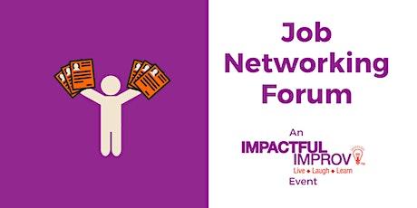 Job Networking Forum tickets