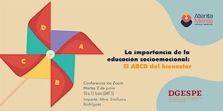 La importancia de la educación socioemocional: El ABCD del bienestar entradas
