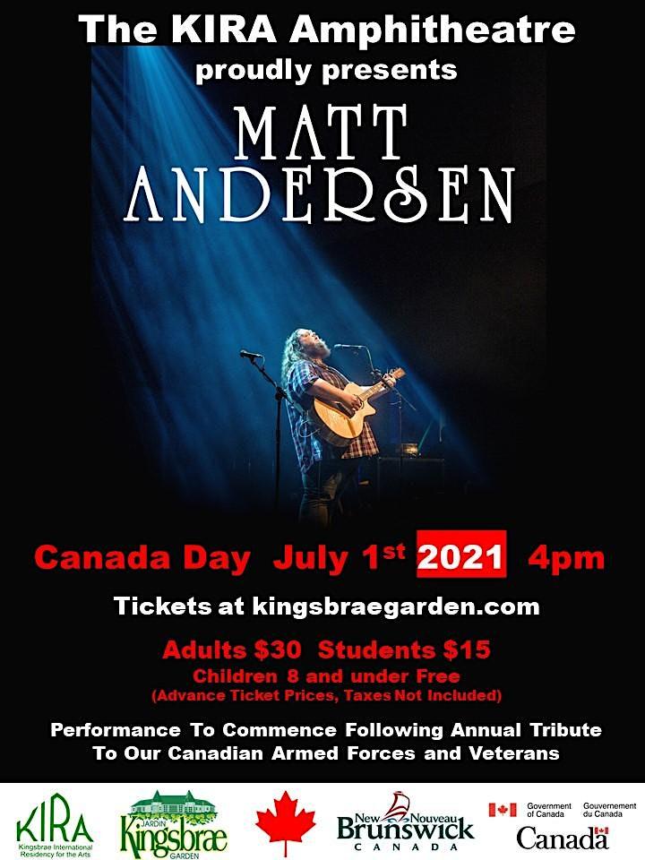 Matt Andersen Canada Day Concert image