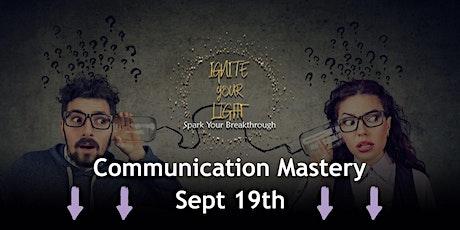 Communication Mastery tickets