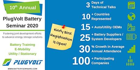 Battery Seminar 2020 tickets