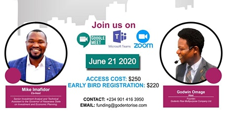 """International Funding conference """"IFC"""" tickets"""