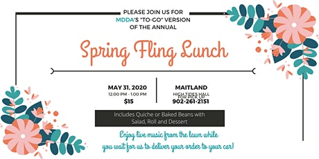 MDDA Spring Fling Luncheon - To Go tickets