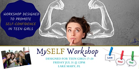 MySELF Workshop (designed for teen girls to strengthen core self values) tickets