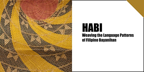 HABI: Weaving the Language Patterns of Filipino Bayanihan tickets