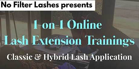 1-on-1 Online Classic & Hybrid Lash Extension Certification Training tickets