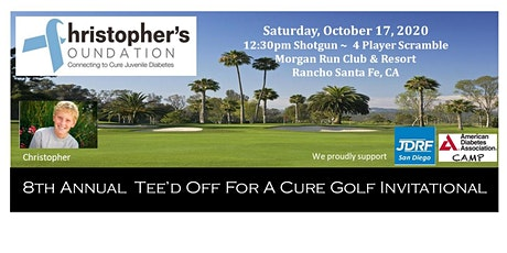 Christopher's Foundation Annual TEE'D OFF FOR A CURE INVITATIONAL, Oct. 17, 2020 tickets