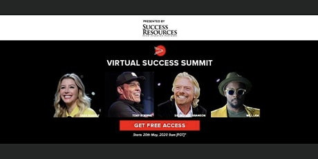 Virtual Success Summit with Tony Robbins tickets