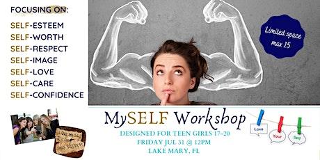 MySELF Workshop (designed in mind for teen girls) tickets