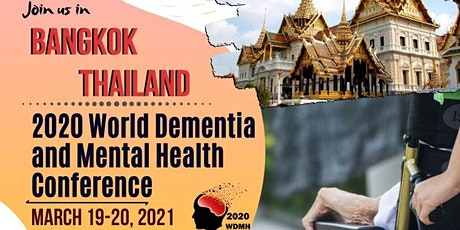 2020 World Dementia and Mental Health Conference tickets