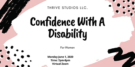 FREE EMPOWERMENT STUDIO SESSION:IIII Confidence With A Disability boletos