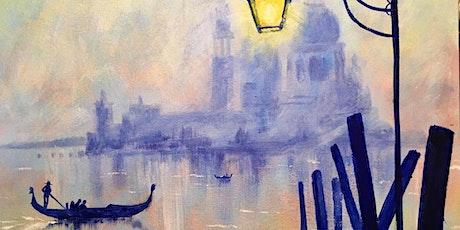 Virtual Painting Party - Venice ingressos