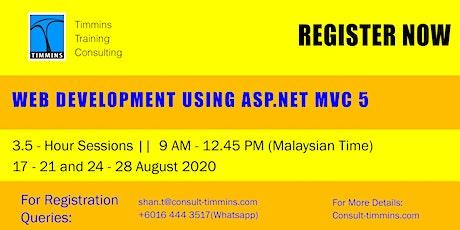 Weninar - Web Development Usingb ASP.NET MUC 5 tickets