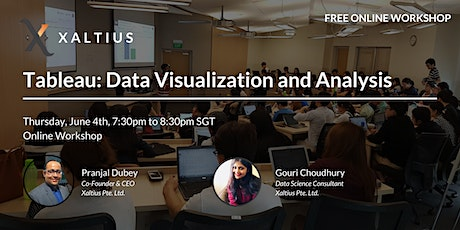 Tableau: Data Visualization and Analysis tickets
