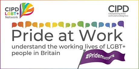Pride at Work - understand the working lives of LGBT+  people in Britain tickets