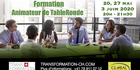 Formation de base Facilitateur Table Ronde GPS (3 rencontres comprises) tickets
