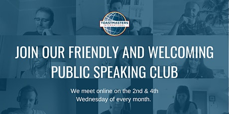 Sheffield Speakers: Public Speaking Club - Join us at our next meeting billets