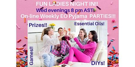 Wed Night Pyjama Parties with Essential Oils & PRIZES! SpringTime TOPICS!! tickets