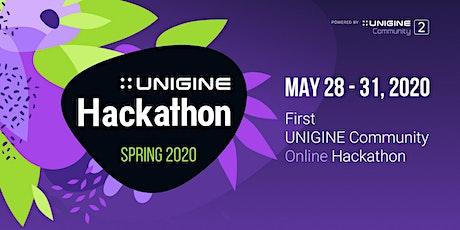 First UNIGINE Community Online Hackathon tickets