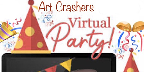 Virtual Paint Party On Zoom tickets