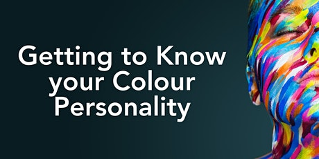 Get to Know your Colour Personality tickets