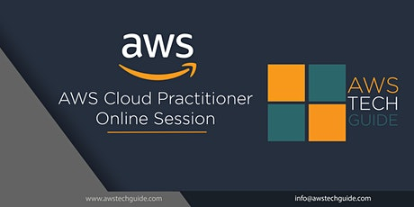 AWS  Cloud Practitioner - ONLINE 4 Sessions tickets