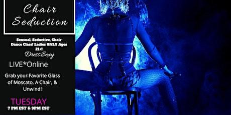 Hour Glass Fit Chair Seduction Online Dance Class tickets