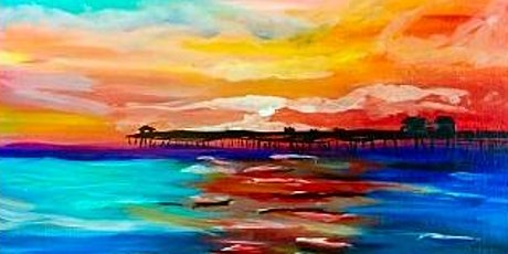 Paint Wine Denver The Dock Thurs July 23rd 6:30pm $35 tickets
