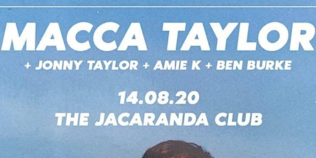 Cult Music presents MACCA TAYLOR tickets