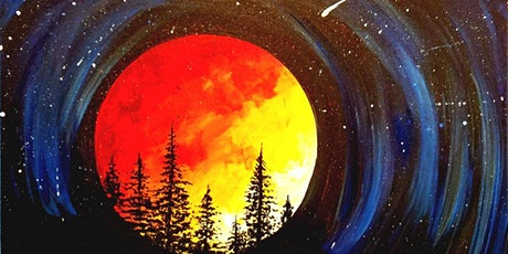 Paint Wine Denver Supermoon Wed July 15th 6:30pm $35 tickets
